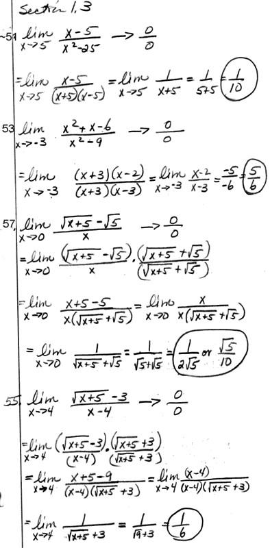 calculus 3 homework