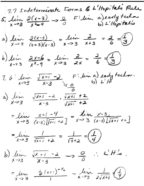 Calculus homework help