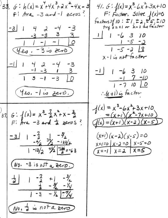 Precalc math homework help